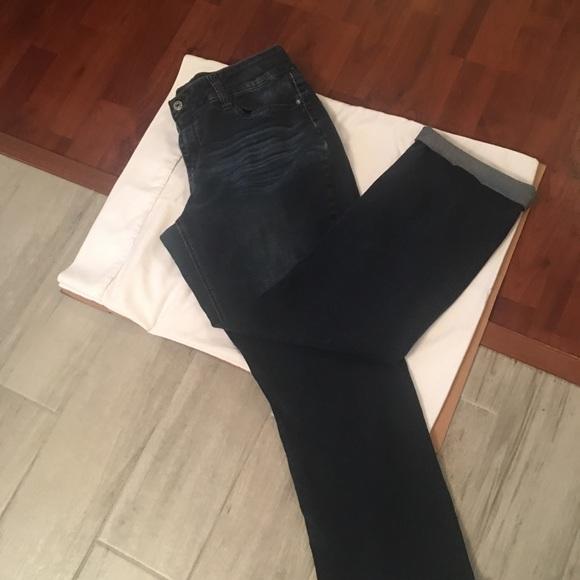 Jeans hydraulic